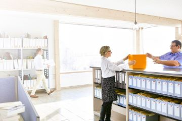 Wir pflegen ein Betriebsklima, in dem wir mit Freude und Eigenverantwortung arbeiten.