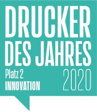 Drucker des Jahres 2020 -  2. Platz